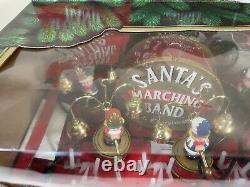 1992 Mr. Christmas Santa's Marching Band Musical Christmas Holiday Decoration
