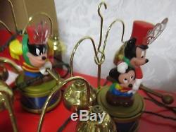 1994 Mr. Christmas Disney Mickey's Marching Animated Band NICE