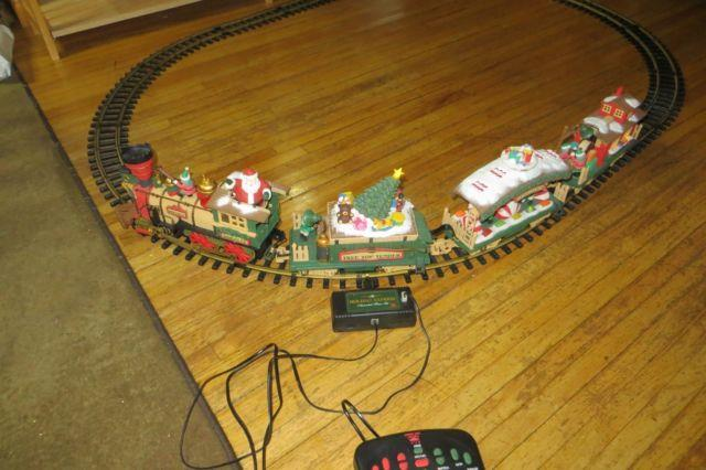 1995 Holiday Express Animated Christmas Train Set, Complete, Works Great