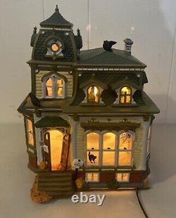 1998 Dept 56 Haunted Mansion Halloween Original Snow Village 54935 Box Tested