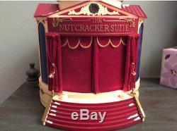 1999 Gold Label Mr Christmas The Nutcracker Suite Animated Ballet Stage tested