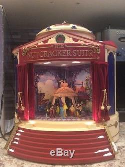 1999 Mr CHRISTMAS Gold Label NUTCRACKER SUITE BALLET Animated WORKS VTG