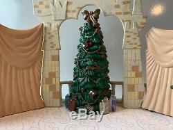 1999 Mr. Christmas Disney Cinderella Ball Musical Dancing Palace Extremely Rare