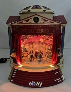 1999 Mr Christmas The Nutcracker Suite Animated Music Box Gold Label