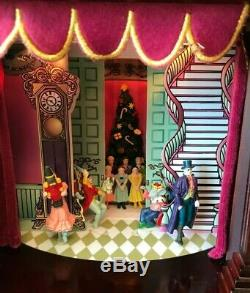 2005 Mr Christmas NUTCRACKER SUITE Wood Musical Animated Scenes Theater Box