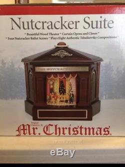 2005 Mr Christmas NUTCRACKER SUITE Wood Theatre Musical 4 Scenes 8 Songs Ballet