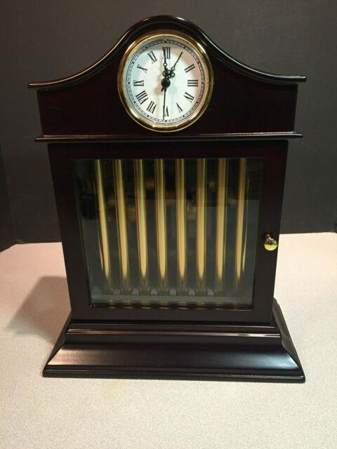 2010 Mr Christmas Grand Chimes Clock Gold Label Collection