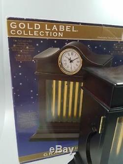 2010 MR CHRISTMAS GRAND CHIMES CLOCK MUSIC BOX Gold Label Collection WORKS w Box