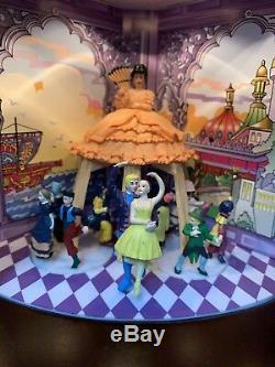 2010 Mr Christmas Nutcracker Suite Ballet Wooden Music Box 4 Scenes 8 Songs