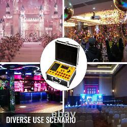 24 Cues Cold Fireworks Firing System Wedding Switch 500M Remote Wireless Control