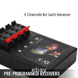 36 Cues 500M Waterproof Fireworks Firing System 1200Cues Wireless Remote Control