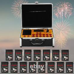60 Cues 500M Waterproof Fireworks Firing System 1200Cues Wireless Remote Control
