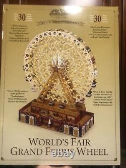 75th Anniversary World Fair Ferris Wheel Mr Christmas