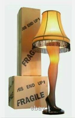 A Christmas Story 45 Full Size Leg Lamp