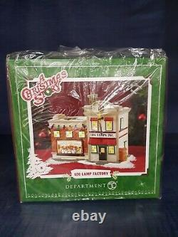 A Christmas Story Department 56 Leg Lamp Factory Brand New