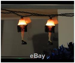 A Christmas Story Kurt Adler UL 10-Lights Leg Lamp Light Set 30 Lead Wire NEW