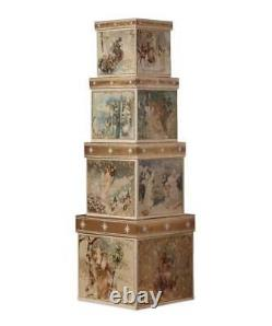 A Peaceful Christmas Nesting Boxes Display Stands Bethany Lowe TP6194