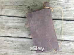 Antique Wooden Cowbell, South East Asia, Primitive, Large, OLD