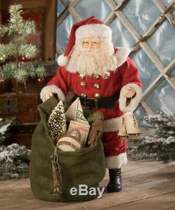Bethany Lowe Christmas Kris Jingles & Bells Large Santa ClausTD9024 New 2020