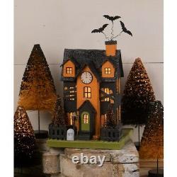 Bethany Lowe Halloween Haunted House Luminary LC0722 Free Ship
