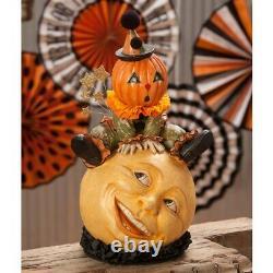 Bethany Lowe Halloween Over The Moon Jack TD7634