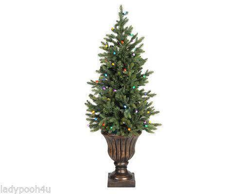 Bethlehem Lights 4' Battery Op Urn Tree With Timer Multi