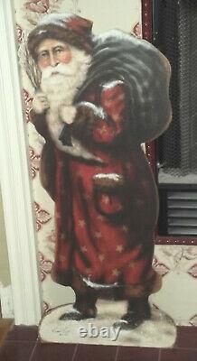 Bonnie Barrett Boardwalk Original Santa & Sack 34