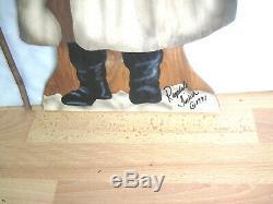 Bonnie Barrett Boardwalk Originals Christmas Santa Ragsdale Tucker 1991