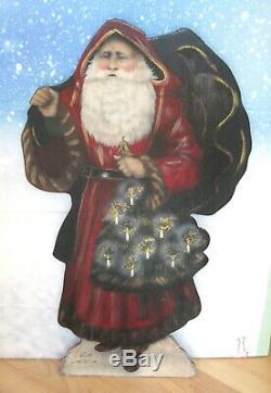 Bonnie Barrett/buller Boardwalk Originals Christmas Santa 1998
