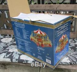 Brand New Unopened Mr. Christmas World's Fair Boardwalk Carousel