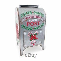 Burton & Burton Decor Standing Mailbox North Pole Express