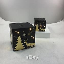 Chanel Pair Christmas Light Up Display Cubes LED Lights Twinkle on off Switch