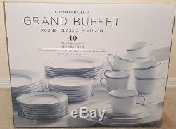charter club grand buffet round class platinum 40 piece 8 place rh christmas items net charter club grand buffet gold china charter club grand buffet red