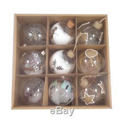 Christmas Bundle 8ft Christmas tree + Gift Bag + Wreath + Hanging Ornamet Balls