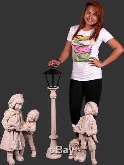 Christmas Carolers Yard Statues Props Decor