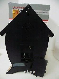Christmas Gingerbread House Cuckoo Sound Clock