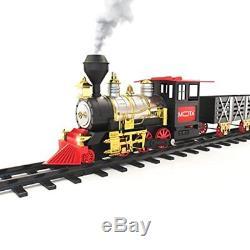 Christmas Train Set Around The Tree Holiday Classic Train Real Smoke & Sound New
