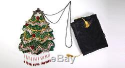 Christmas Tree Purse Bag Fashion Collectible Katherine's Collection 14-36343