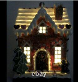 Christmas decoration Gingerbread House, 9 seasonal O4