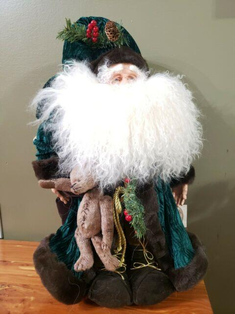 Collectable Santa 21 Designed By Stone Soup Exclusive For The Ganz