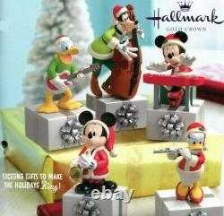 Complete Hallmark Disney Christmas Quintet Wireless Band New in Boxes