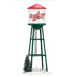 DEPT 56 A CHRISTMAS STORY Accessory HOHMAN WATER TOWER 4038248 NIB
