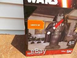 Darth Vader Star Wars 10Ft Lighted Airblown Inflatable Blow Up Gemmy YARD DECOR