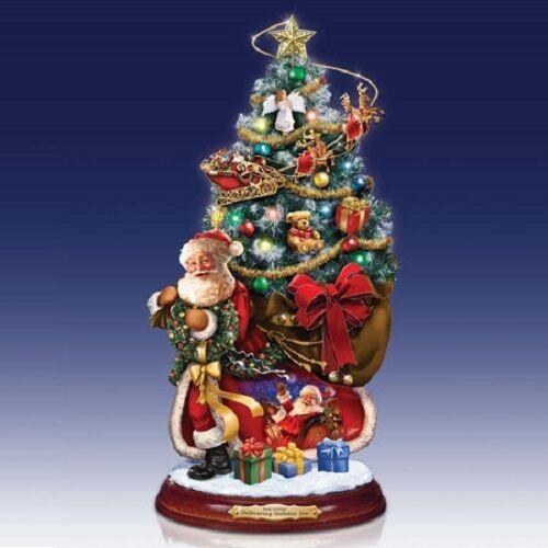 Delivering Holiday Joy Gelsinger Santa Tree Bradford Exchange Christmas