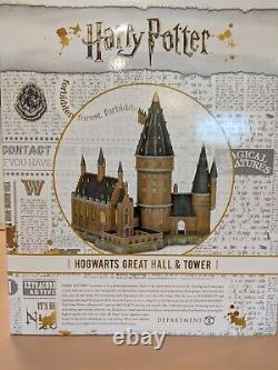 Department 56 Enesco Harry Potter Hogwarts Great Hall & Tower Statue Large