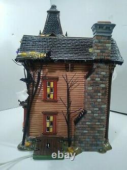 Department 56 Halloween Snow Village Halloween Victorian House Rare