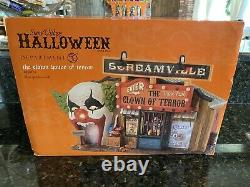 Department 56 Halloween The Clown House Of Terror 4030759 MINT in Box RETIRED