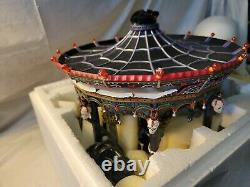 Department 56 Halloween Village Ghostly Carousel Retired in 2005 with Box