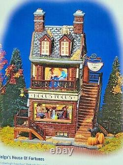 Department 56 Helga's House of Fortunes Snow Village Halloween Works