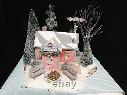 Department 56 Lighted Building Winters Frost HIDDEN POND WARMING HOUSE Box